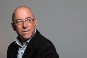 Robert Mienstra, de schrijver van het Almeers Dictee